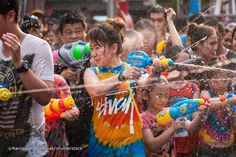 Songkran water festival, bangla road, patong beach. Coming to Phuket during April? Then you're in for a big surprise if you're here from April 13 – 15. This is the time of the Thai celebration of New Year, Songkran – an event that marks the beginning of the solar calendar (it translates as