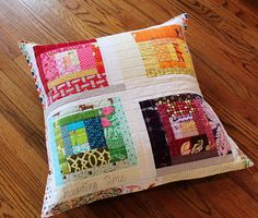 floor pillow (use sentimental fabrics)