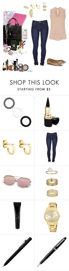 """Untitled #462"" by rafamelorodrigues ❤ liked on Polyvore featuring Berry, Finn, Dr. Denim, Miss Selfridge, Mary Kay, Faber-Castell and Montblanc"