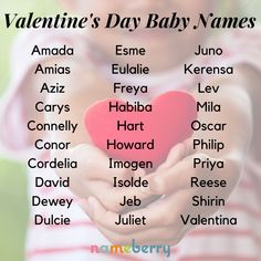 168 Valentine's Day Baby Names Cute Baby Names, Baby Girl Names, Boy Names, Old Quotes, Sign Quotes, Names That Mean Love, Unique Girl Names, Name Inspiration, Valentines Day Baby