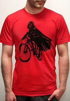 Darth Vader es montar a caballo Mens camiseta por EngramClothing