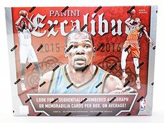 2015/16 Panini Excalibur Basketball Hobby Box by Panini. 2015/16 Panini Excalibur Basketball Hobby Box.