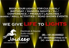 R u looking @ lighting decorations for ur events .....????