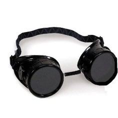 Hobart 770096 Welding Oxy-Acetylene Goggle // Part 1 of my Steampunk outfit has been ordered and is winging its way to me... And then I get to paint it and add gears and totally personalize them.