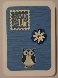 Stampin Up Eule
