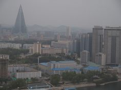 Piramidehotel in Pyonyang North Korea, San Francisco Skyline, Travel, Viajes, Destinations, Traveling, Trips