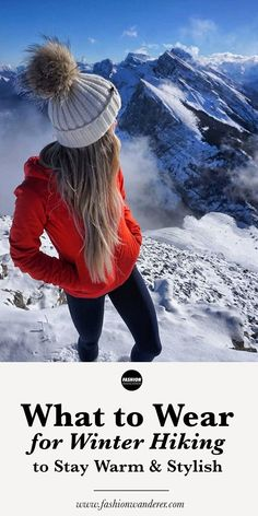 a3e20f68680 Winter Hiking Clothes  Stay Warm And Look Stylish