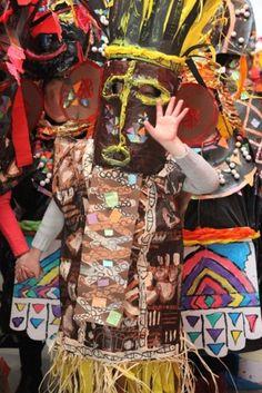 carnaval GS Cameroun et Afrique du Sud chez Catherine: photos 2014 - école petite section