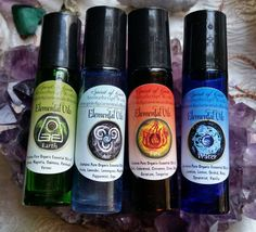 Spirit of Gaia Aromatherapy Works Elemental Oils | Etsy