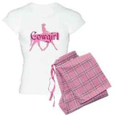Cowgirl Pajamas are the perfect gift for cowgirls, horse lovers, women of independant spirit, and me.