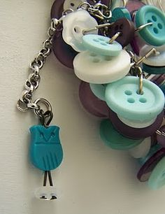 With this cute keychain you - most certainly - don't want to loose your keys ;-) Made by Homemade by Nancy. (that's me! how cool is that ;-)