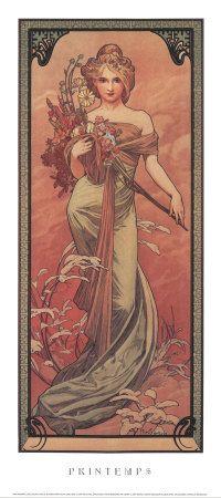四季-春, 1900 アートプリント