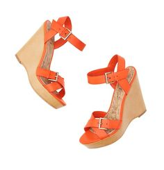 Ladies, we need the pop of color to bring the outfit alive.  These wedges are comfortable and can be worn with shorts, jeans, skirts and capris.  Great for Spring and Summer.  Thanks Loft.