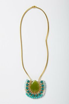 Royal Wreath Necklace.  Anthropologie.