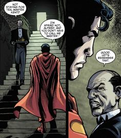 …not even from the all-powerful Superman. | 21 Reasons We Should All Be More Like Alfred Pennyworth