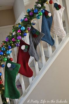 DIY Recycled Sweater Stockings! DIY Clothes DIY Refashion DIY Sweater