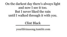 """like the rain - clint black I love to hold fundraisers. If you're in need of a fundraiser check out www.mygc.com/theamazingsmellofgold for candle fundraising info.  20% of total sales is donated to your organization so the profit of selling one 16 oz candle is equivalent to selling 14 candy bars or I also offer """"If You're Not A Rodeo Fan...BUCK OFF!!"""" shirts as a fundraiser. Check out www.bit.ly/buckoff shirt info. $5 of each shirt sold will benefit your organization. Any questions contact…"""