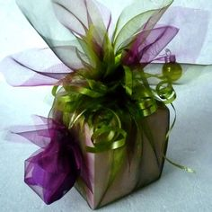 Add creative flair to your gift wrapping with these pretty colors of tulle!