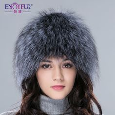 432d6dd6e8f Free shipping 2013 fashion fox knitted millinery fur hat lei feng snow cap  millinery