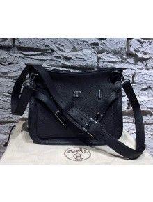 Hermes Jypsiere 28 Bag in Original Togo Leather Black