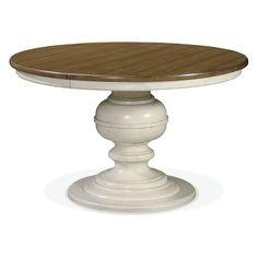 Universal Furniture Summer Hill Round Pedestal Dining Table | Jet.com