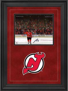b39657ff0 Patrik Elias New Jersey Devils Deluxe Framed Signed 8