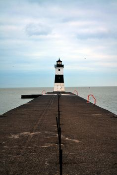 North Pier Lighthouse, Presque Isle, PA  - been there last summer