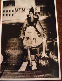Postcard / Josephine Baker, La Revue Nègre / James Abbe / 1920s