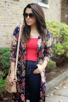 A Love Affair With Fashion : Florals For Fall