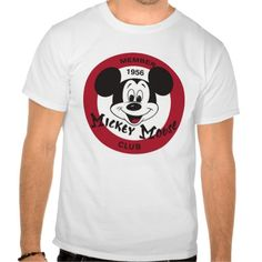 Mickey Mouse Club logo Tees T-Shirt, Hoodie for Men