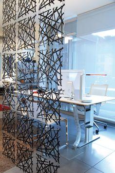 #design3000 Stixx ist Dekovorhang, Raumteiler und Fensterdekoration in einem.