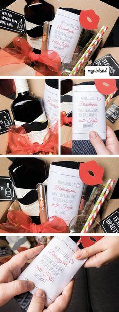 Ladet Euch die kostenlose Sockenbanderole als free printable für Euer Hochzeitsgeschenk herunter!  Die Morgengabe für den Bräutigam ist mehr als nur ein alter Brauch.   #freebie #printable #download #kostenlos #hochzeit #hochzeitsgeschenk #braut #bräutigam #morgengabe #ideen #geschenkideen #selbermachen #diy