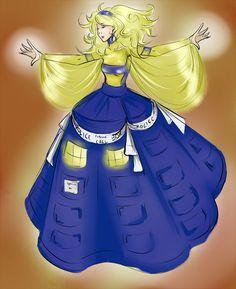 DW Fashion: TARDIS by Miss-Alex-Aphey.deviantart.com on @deviantART