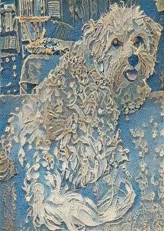 Lace dog