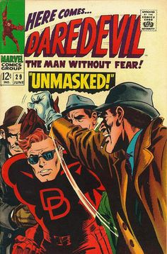 Daredevil # 29 by Gene Colan & Frank Giacoia