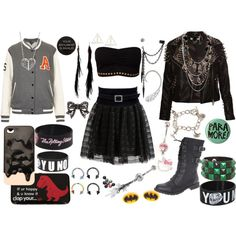 """That Really Badass Chick"" by olliegmich493 on Polyvore"