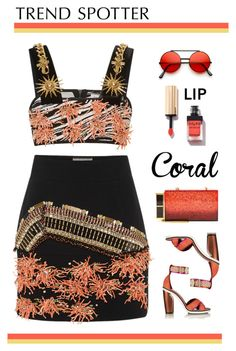 """""""Untitled #619"""" by modernmoda ❤ liked on Polyvore featuring FAUSTO PUGLISI, Nicholas Kirkwood, Tom Ford, Yves Saint Laurent, women's clothing, women, female, woman, misses and juniors"""