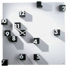 Progetti RND Random Time Wall Clock // 10 MOST Creative Clocks That Will Inspire Your Time