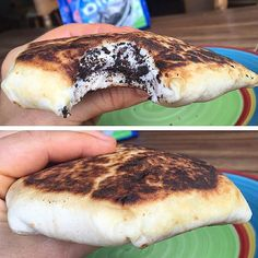 #MacroFriendly Oreo Cookie & Cream Cheesecake Protein Crunchwrap!  Imagine… Protein Desserts, Protein Foods, Healthy Desserts, Protein Recipes, Mint Dark Chocolate, Healthy Dark Chocolate, Food Porn, Cheat Meal, Eating Raw
