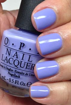 Spring purple. OPI - You're A Such A Budapest