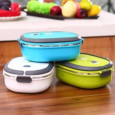 Send these lunch boxes off with your kids or bring them to the office!