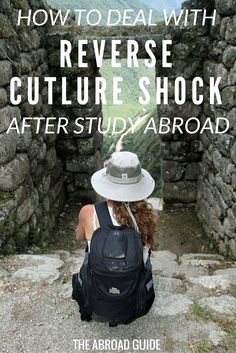 You get a weird feeling when you return home from your study abroad semester, and might find it tough to get used to being back in the US with your family and friends. That's called reverse culture shock-- here are our tips for how to deal with it.