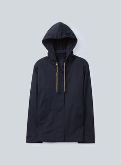 Simple and sleek, this T.Babaton Gavin Coat is perfect for sun and rain alike.