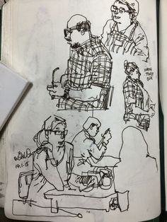 Urban Sketchers Don Low