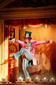Steven McRae as the Mad Hatter in Alice's Adventures in Wonderland © Johan Persson/ROH 2011 | Flickr - Photo Sharing!
