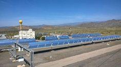 Las plantas de energía podría reducir un tercio de sus emisiones mediante el uso de la energía solar