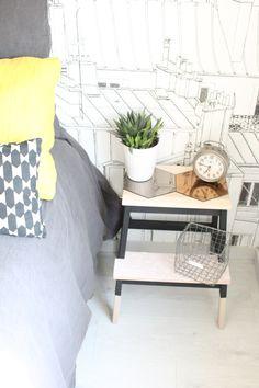 """Le marche-pied BEKVÄM  vous connaissez ?! Mais si, le fameux marche-pied IKEA, à la fois joli dans sa version """"bois brut"""" et pratique, et que l'on relooker et détourner à l'infini (ou..."""