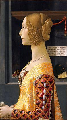 Domenico Ghirlandaio: Giovanna Tornabuoni, 1488. http://www.pinterest.com/margaretmcart/medieval-renaissance/