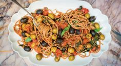 Nina Parker Recipe: Dolce Vita Puttanesca