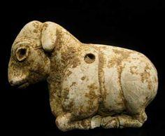 Sumerian Sheep Amulet - Origin: Mesopotamia Circa: 3500 BC to 2500 BC
